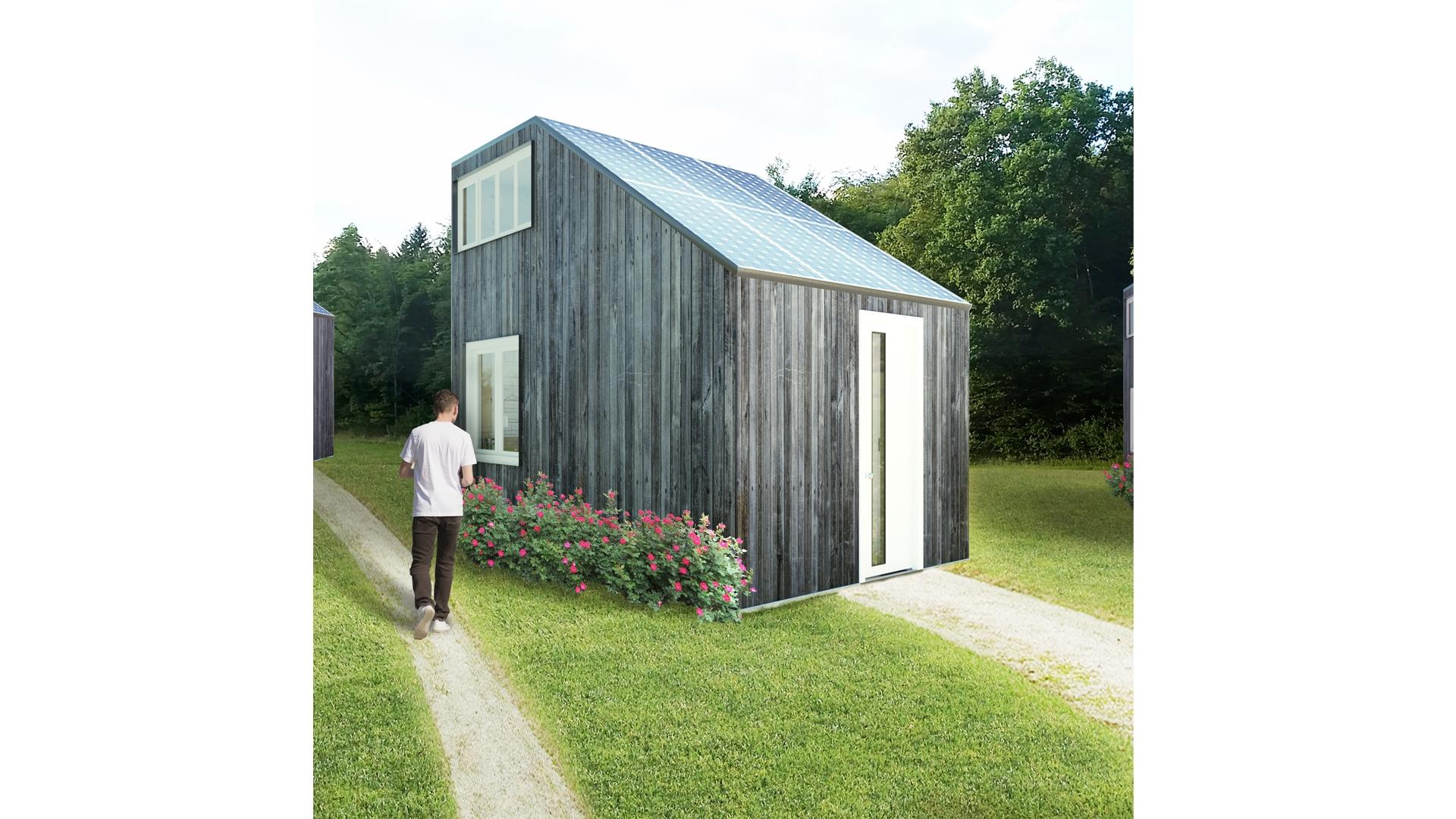 Superb Small House Vizus Inspirational Interior Design Netriciaus